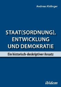 """Buch-Cover """"Staat(sordnung), Entwicklung und Demokratie"""""""