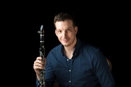 Tristan von den Driesch, Klarinettist der Essener Philharmoniker (Foto: Saad Hamza).