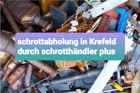 Kostenlose Schrottabholung Krefeld Wir sind mobil und kommen dort hin wo Sie uns brauchen. Schrottabholung direkt vor Ort, immer in Ihrer Nähe! Wir sind Schrotthändler, die in ganz Krefeld Und Umgebung unterwegs sind.