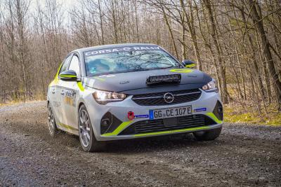Unique Sound System for All-Electric Opel Corsa-e Rally Car