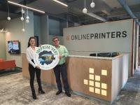Green printing: Onlineprinters renews the Imprim'Vert® eco-label