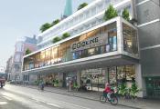 Visualisierung des umgebauten Karstadt Sport-Gebäudes / Grafik: Projektgruppe Cocial City