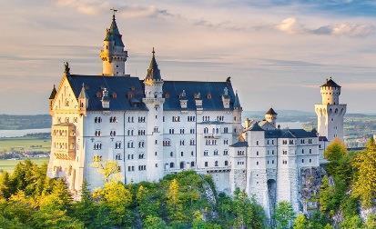 Einladung in die Vergangenheit: die Schlösser und Burgen an der Romantischen Straße