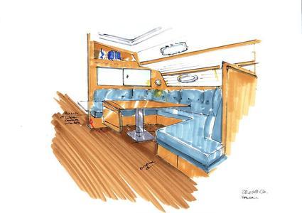 Bavaria 43c salon