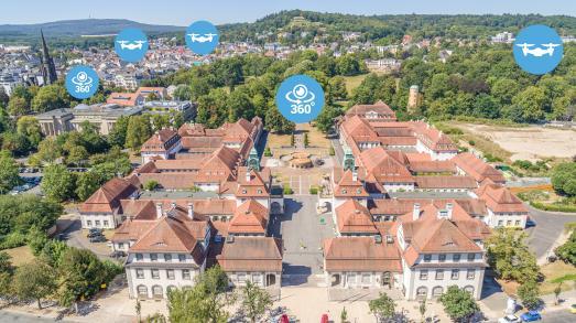 Bad Nauheim virtuell: 360°-Rundgang
