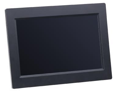Somikon WLAN-Bilderrahmen mit 25,7-cm-IPS-Touchscreen & weltweitem