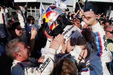 Marco Wittmann, BMW Team RMG, Hockenheim, Jubel