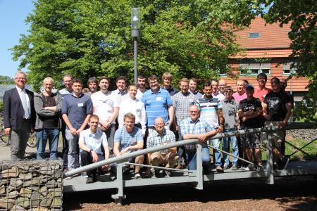 Beim Doktorandentreffen in Osnabrück tauschten sich die Teilnehmer unter anderem über digitale Zukunftsvisionen in der Agrartechnik aus