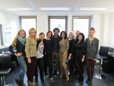 Boris Entrup bei der Visagistenschule Famous Face Academy