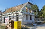 Hier entsteht ein Massivhaus von Town & Country Haus