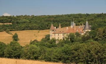 Die Essenz Burgunds heißt ein neuer Trip aus der Linie Natur & Kultur. Mit Wanderungen an der Côte d'Or – hier die Burganlage La Rochepot.