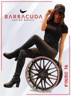 BARRACUDA RACING WHEELS mit neue Logo und Markenbotschafterin Sabrina Doberstein