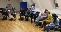 """""""FocusFrauen Wissenschaftskarriere"""", hier an der Universität in Mainz, verfolgt den Aufbau eines Netzwerks zur Förderung weiblicher Professuren / Foto/Hochschule Worms"""