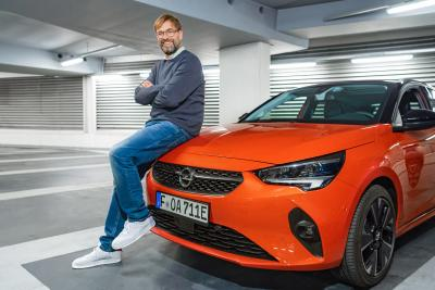 Congratulations! Opel Brand Ambassador Jürgen Klopp Leads Liverpool FC to Premier League Title