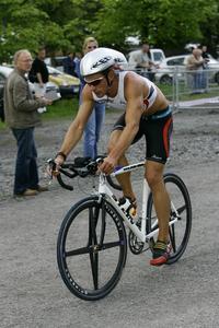 Matthias Dunse auf dem Rad