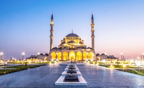 Sharjah Moschee