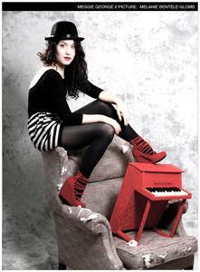 In München geboren, in der internationalen Musikwelt zuhause: Meggie George tritt im Seehotel Leoni mit emotionalen Songs rund um die Liebe auf (Foto: Melanie Bentele-Glomb)