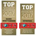 Focus Siegel 2017 Christophsbad Rehaklinik Bad Boll