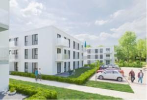 Sparda Immobilien verschenkt drei Photovoltaik-Anlagen an Kommunen  anlässlich der Unterzeichnung des Stormarner Bündnisses für bezahlbares Wohnen.