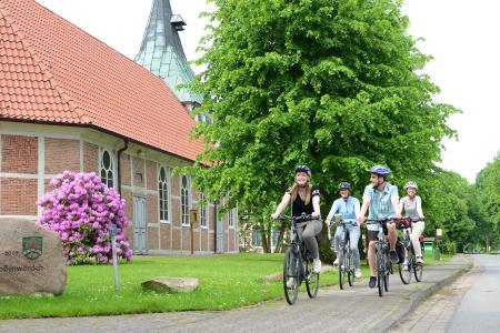 St.-Marien-Kirche Großenwörden ©Martin Elsen Tourismusverband Landkreis Stade e.V.
