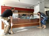 Mitarbeiter des Landesmuseums Hannover bei den Vorbereitungen / (c) Landesmuseum Hannover