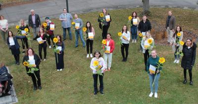 16 Altenpflegehelfer haben ihre einjährige Ausbildung an der Vogelsberger Pflegeakademie erfolgreich abgeschlossen / Foto: Sabine Galle-Schäfer/Vogelsbergkreis