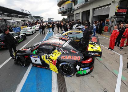 HARIBO RACING zieht seinen Porsche zurück