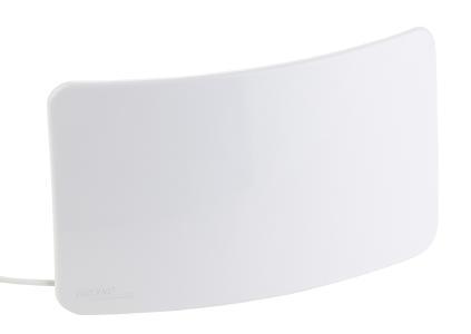 ZX 2828 1 auvisio Aktive Curved Zimmerantenne fuer DVB TT2 +40 dB LTE Filter