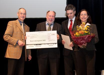 Staatssekretär Rudolf Köberle MdL, VAG Vorstand Prof. Dr. Rolf-Michael Kretschmer, Oberbürgermeister Dr. Dieter Salomon, VAG Vorstand Dr. Helgard Berger