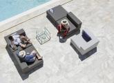 Outdoor Lounge april furniture Loop Sitzelemente.