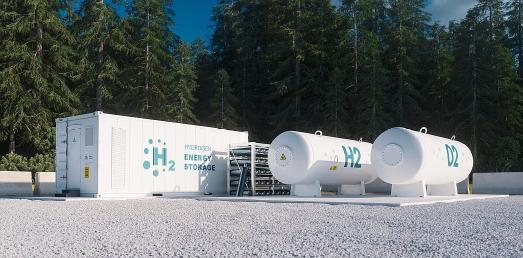 Wasserstoff-Speicherung ein Investionsfeld des Aktienfonds GG Wasserstoff.