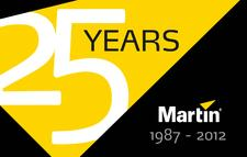 Martin Professional Celebrating 25th Anniversary!