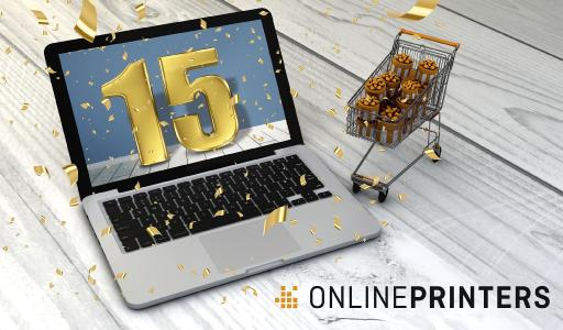 Onlineprinters was established 15 years ago. The launch of the German web shop is considered the birth date of the company. Today, Onlineprinters serves more than one million customers in 30 European countries / Copyright: Onlineprinters GmbH