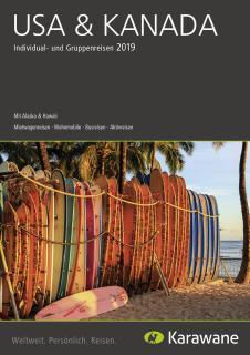 Der neue USA & Kanada-Katalog von Karawane verspricht tolle Einblicke.