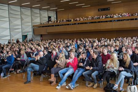 Zum Sommersemester 2014 beginnen rund 650 Erstsemester ihr Studium an der Hochschule Osnabrück