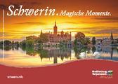 Mit dieser Postkarte wirbt die STADTMARKETING GmbH für einen herbstlichen Kurzurlaub in Schwerin. Umsetzung: www.fachwerkler-grafik.de | Fotos: Timm Allrich und Andreas Duerst / adcreatio