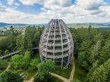 Nicht mehr wegzudenken: Das Baum-Ei ist zu einem Must-See-Reiseziel im Bayerischen Wald geworden. © EAK