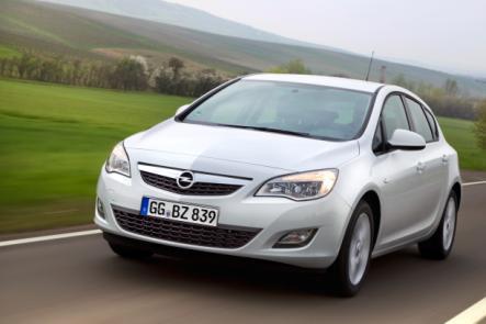 Der neue Opel Astra ecoFLEX mit 109 g/km CO2