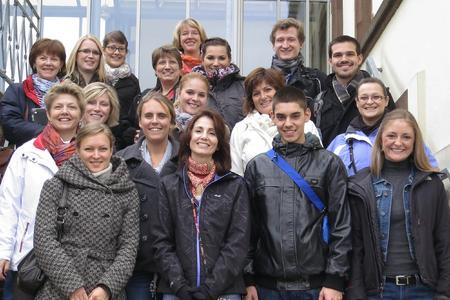 Zu Gast an der Hochschule Osnabrück: Studierende der University of Southern Indiana, USA