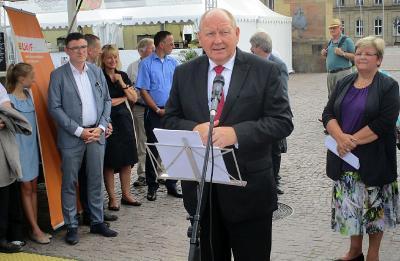 Klaus Brähmig hält Festrede an der Charta-Feier 2017