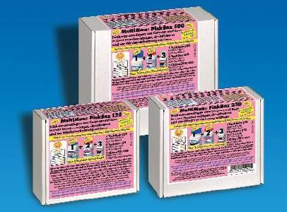 MultiMan PinkBox 125, 250, 500 zur schnellen und gründlichen Reinigung von Wassertanks in Caravan und Boot