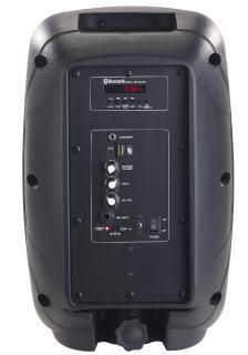 ZX 1681 5 auvisio Mobile PA Partyanlage PMA 900.k mit Bluetooth