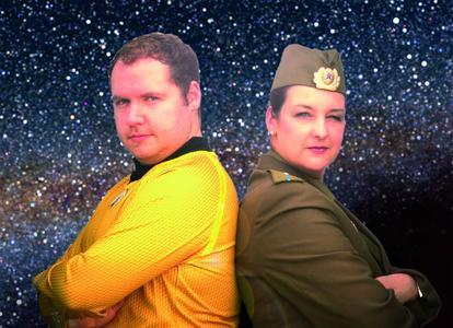 Captain James T. Kirk trifft Walentina Tereschkowa