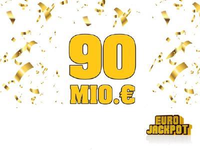 Volltreffer: Der Eurojackpot wurde geknackt. 90 Millionen Euro gehen an einen einzigen Spielteilnehmer aus Hessen. Foto: MünsterView