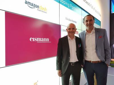 Andreas Diepold und Elmar Westermeyer bei der IFA 2019