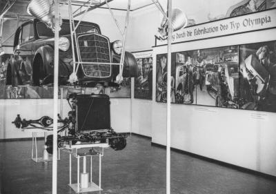 1936 Opel Olympia Ausstellung IAMA Berlin
