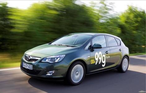 Opel Astra 1.7 CDTI ecoFLEX: Mit nur 99 g/km CO2 (3,7 Liter Diesel pro 100 m) ist er der sparsamste Astra aller Zeiten - und das bei einer souveränen Leistung von 96 kW/130 PS