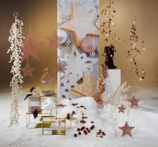 Deko-Stars zur Weihnachtszeit / Bildvermerk: www.dekowoerner.de