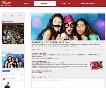 Screenshot www.picturechallenge.de