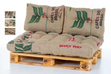 Neu Bei Futon24 Palettenkissen Aus Alten Kaffeesäcken